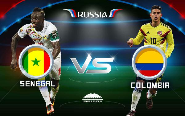 كولومبيا تفوز على السنغال 1-0 لتقصيه وتضمن صدارة المجموعة