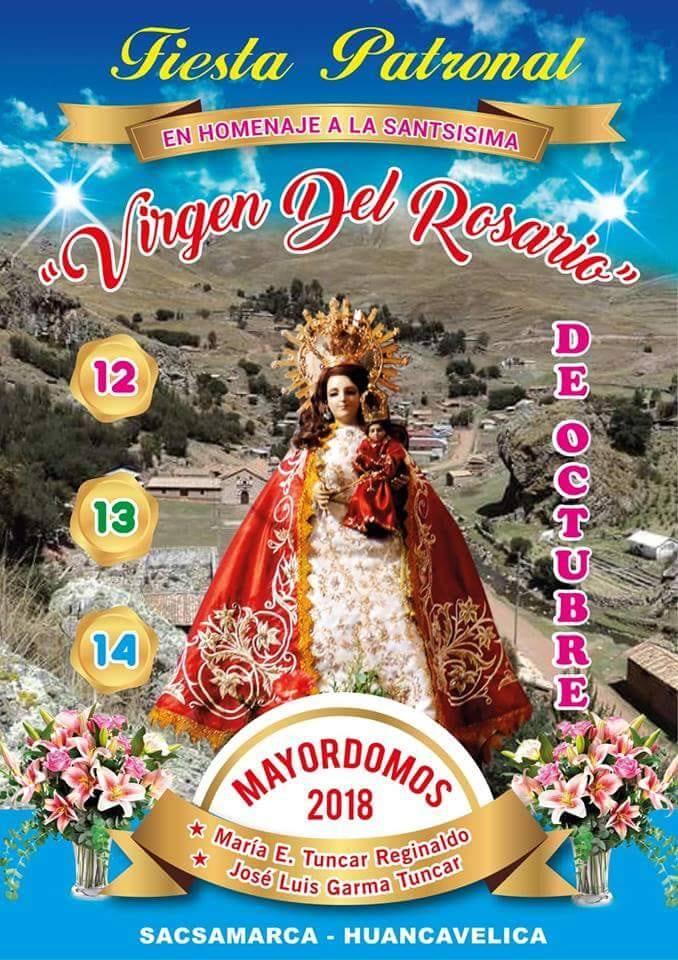 Virgen del Rosario de Sacsamarca