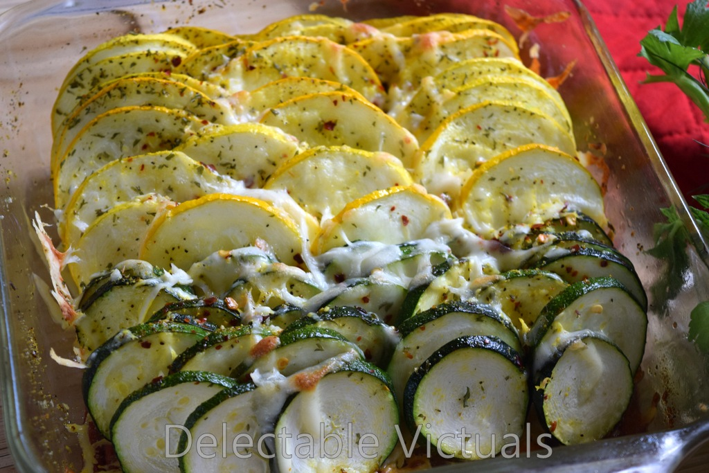... Victuals: Home Garden Summer Squash Gratin with Lemon Pepper