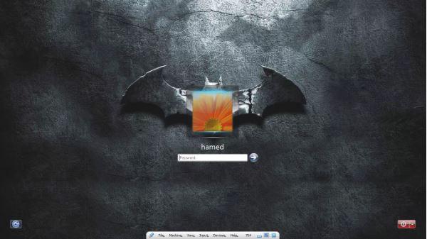 PC SkinPack Batman Untuk Windows 7