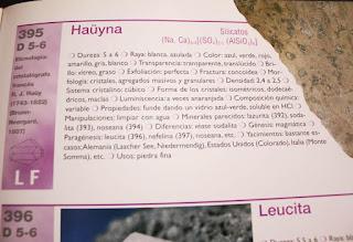 ficha de minerales de ejemplo libro atlas ilustrado de los minerales