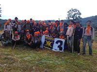 Kader PKS Lamtim Taklukkan Gunung Rajabasa Lamsel