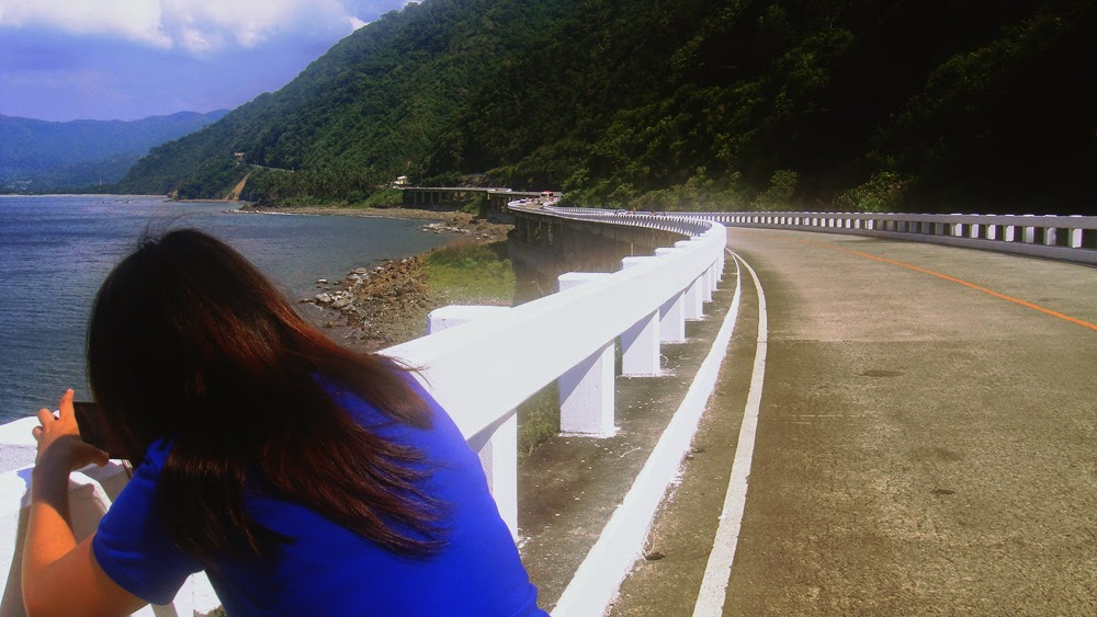 At the northernmost tip, sort of, of Ilocos Norte: the Patapat Viaduct.
