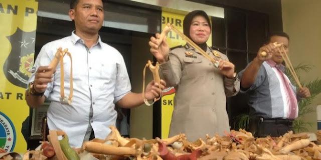 1000 Ketapel Disita di Surabaya, DIDUGA Buat Aksi 2-12 di Jakarta