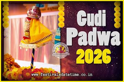 2026 Gudi Padwa Pooja Date & Time, 2026 Gudi Padwa Calendar