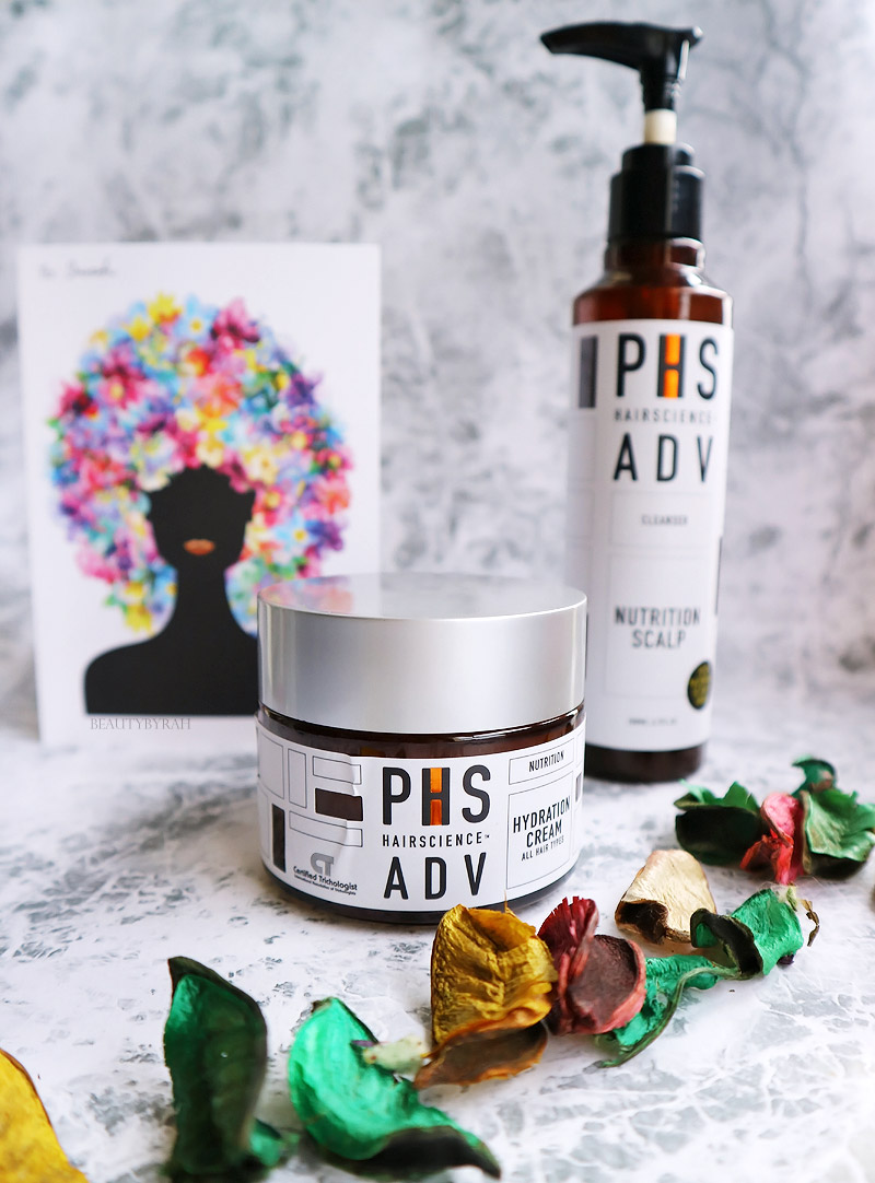 PHS HAIRSCIENCE Nutrition Scalp Cleanser and Hydration Cream Review