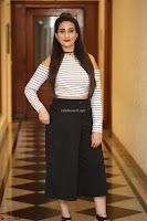 Manjusha in sleevelss crop top and black skirt at Darshakudu pre release ~  Exclusive Celebrities Galleries 117.JPG