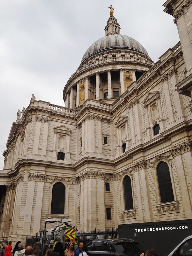 St. Paul's Cathedral, London, England | therisingspoon.com