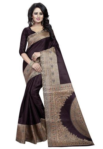 Brown Silk Sarees