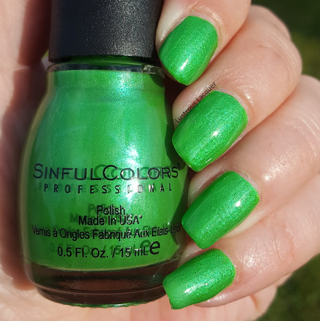 Wild at Heart summer neon collection from Sinful Colors