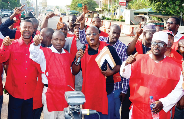 NNPC restructuring: Workers stop fuel supply, shut NNPC headquarters