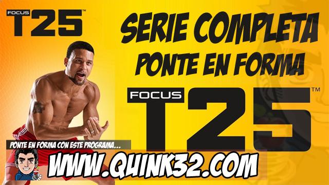 Focus T25 | Ejercicios Adelgazar | Serie Completa