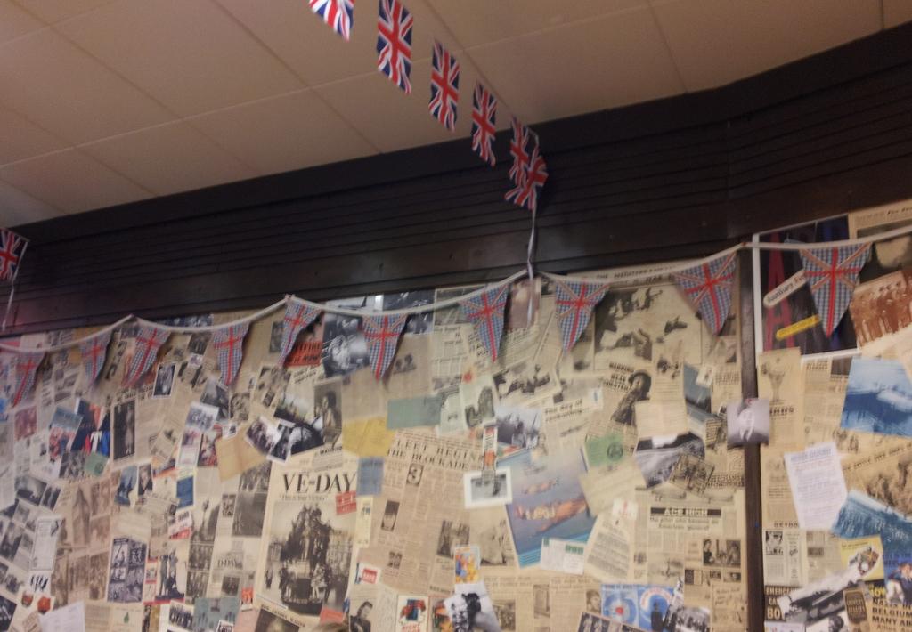 War Themed Tea Room Weston Super Mare
