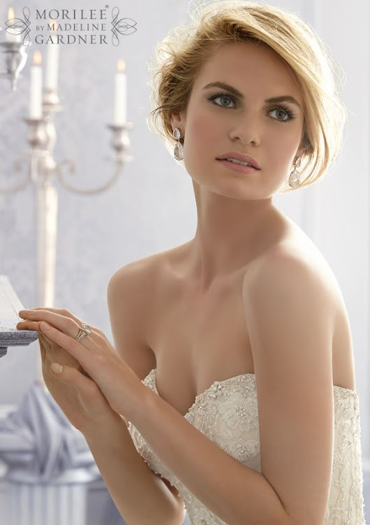 Mori Lee 2671: Strapless Sweetheart Neckline Ball Gown