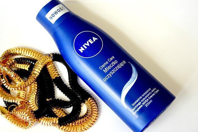 NOWOŚĆ, Nivea Creme Care - Mleczko do oczyszczania twarzy.