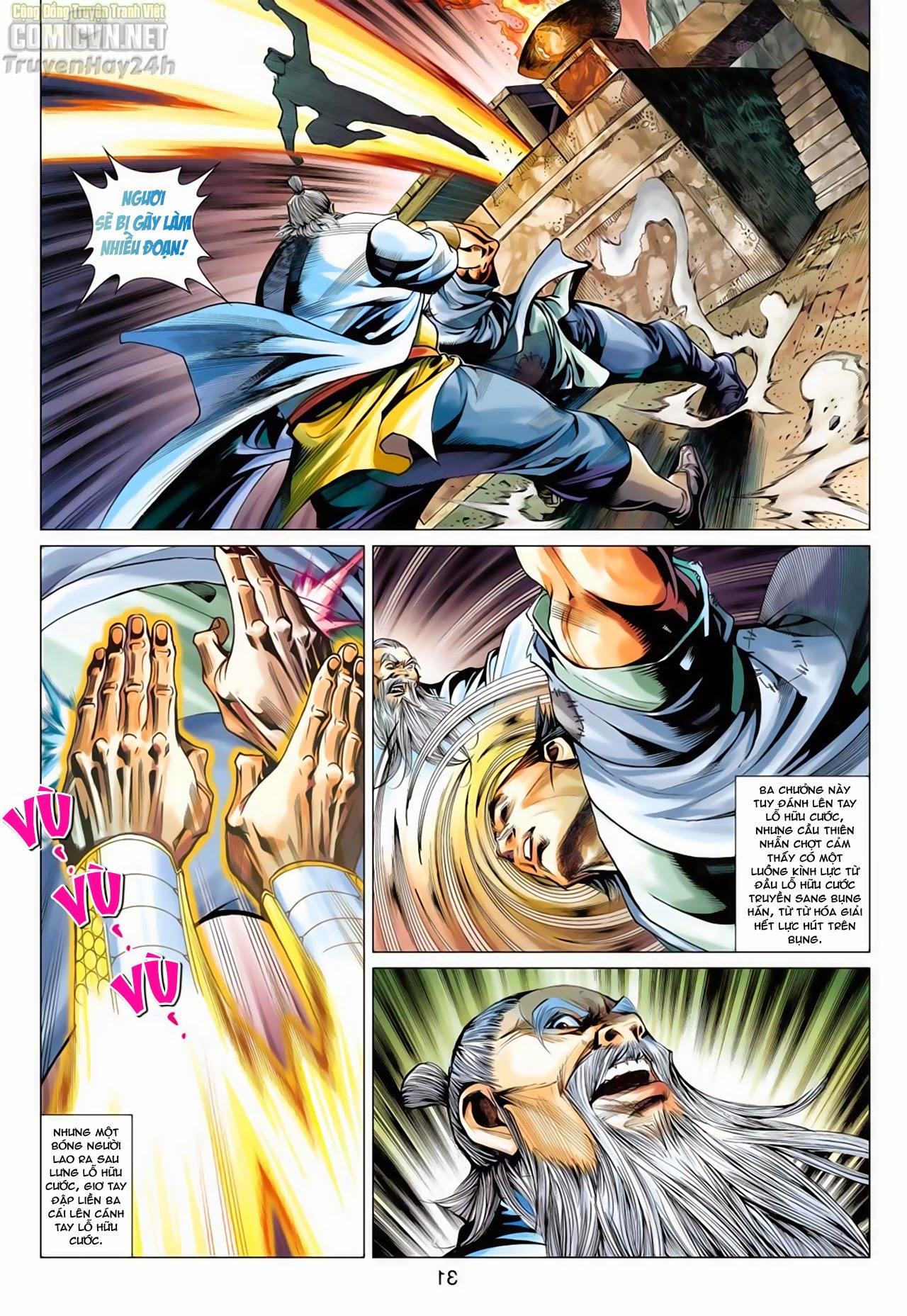 Anh Hùng Xạ Điêu anh hùng xạ đêu chap 66: nhạc châu đại hội trang 31