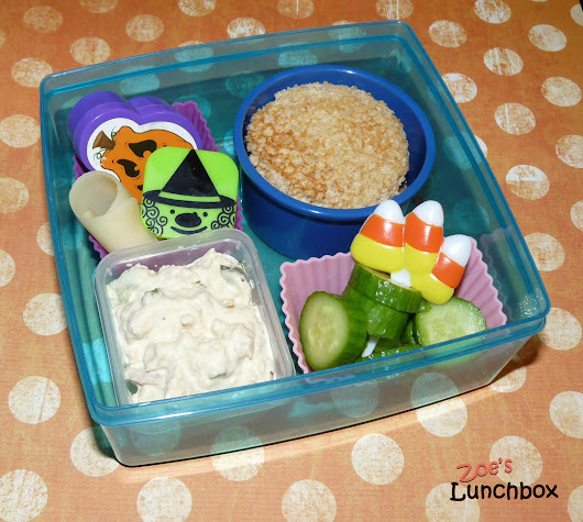 Zoe's Lunchbox: Simple Halloween Fun