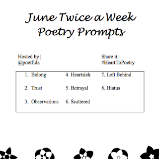 June Prompts: Heart to Poetry