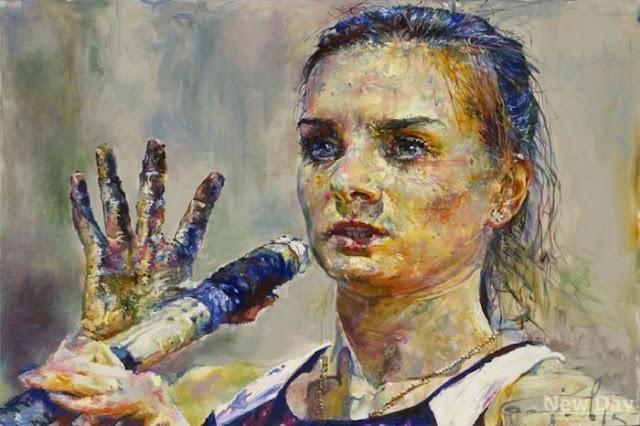 Сергей Базилев включил портрет Елены Исинбаевой
