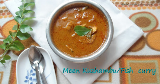 Meen Kuzhambu | Fish curry in coconut paste | My Mother's Special | Our Traditional method -Fish curry