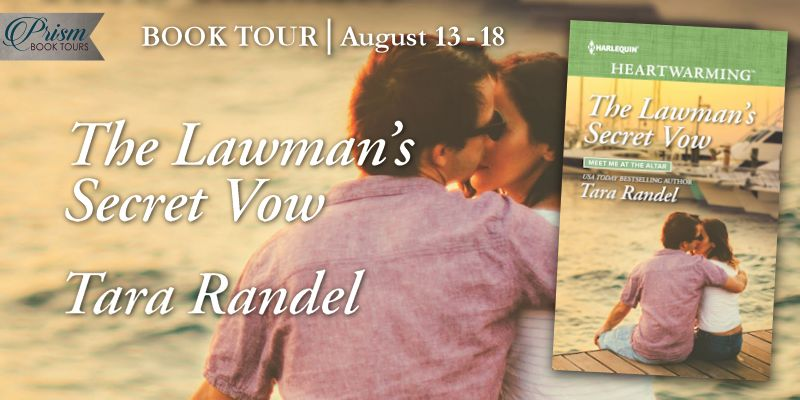 It's the Grand Finale for THE LAWMAN'S SECRET VOW by Tara Randel!