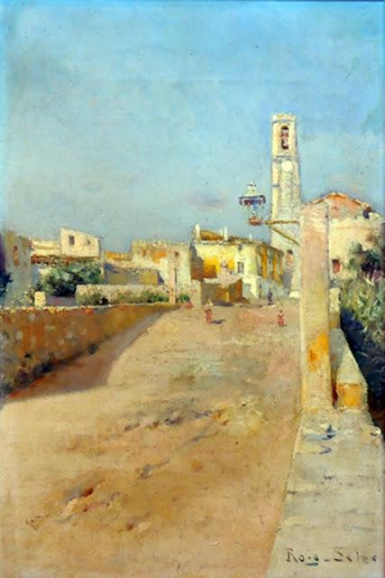 Joan Roig Soler, Paisajistas españoles, Paisajes de Joan Roig Soler, Pintor español, Pintores de Barcelona, Pintores Catalanes, Pintores españoles, Roig Soler