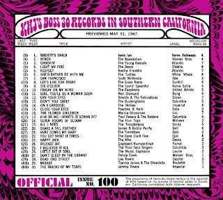 KHJ Boss 30 No. 100 - May 31, 1967