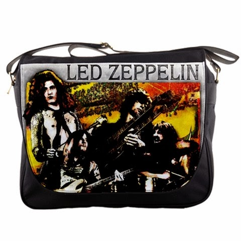 Custom Handmade For Gift Led Zeppelin Messenger Bag