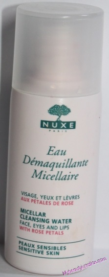 Nuxe Micellar Cleansing Water review