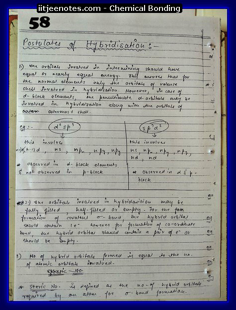Chemical-Bonding Notes cbse10