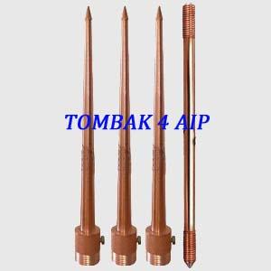 Paket Penangkal Petir Konvesional 4 AIP BC-25mm