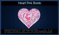 Heart Pink Bomb