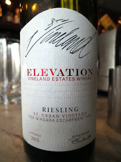 Vineland Estates Elevation St. Urban Vineyard Riesling 2015 - VQA Twenty Mile Bench, Niagara Peninsula, Ontario, Canada (89 pts)