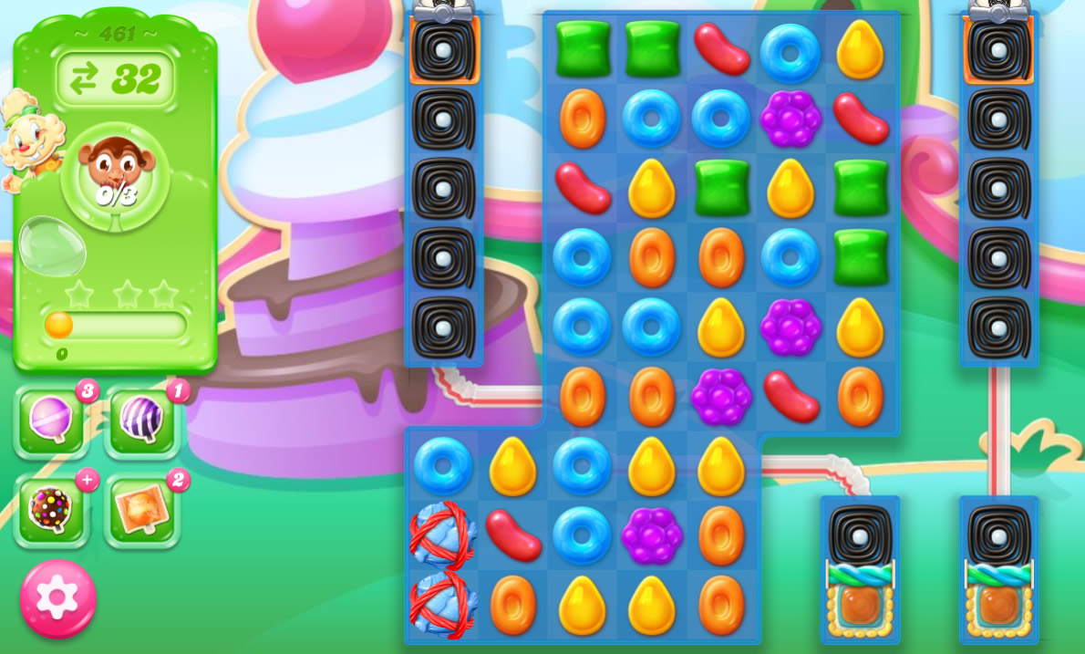 Candy Crush Jelly Saga 461