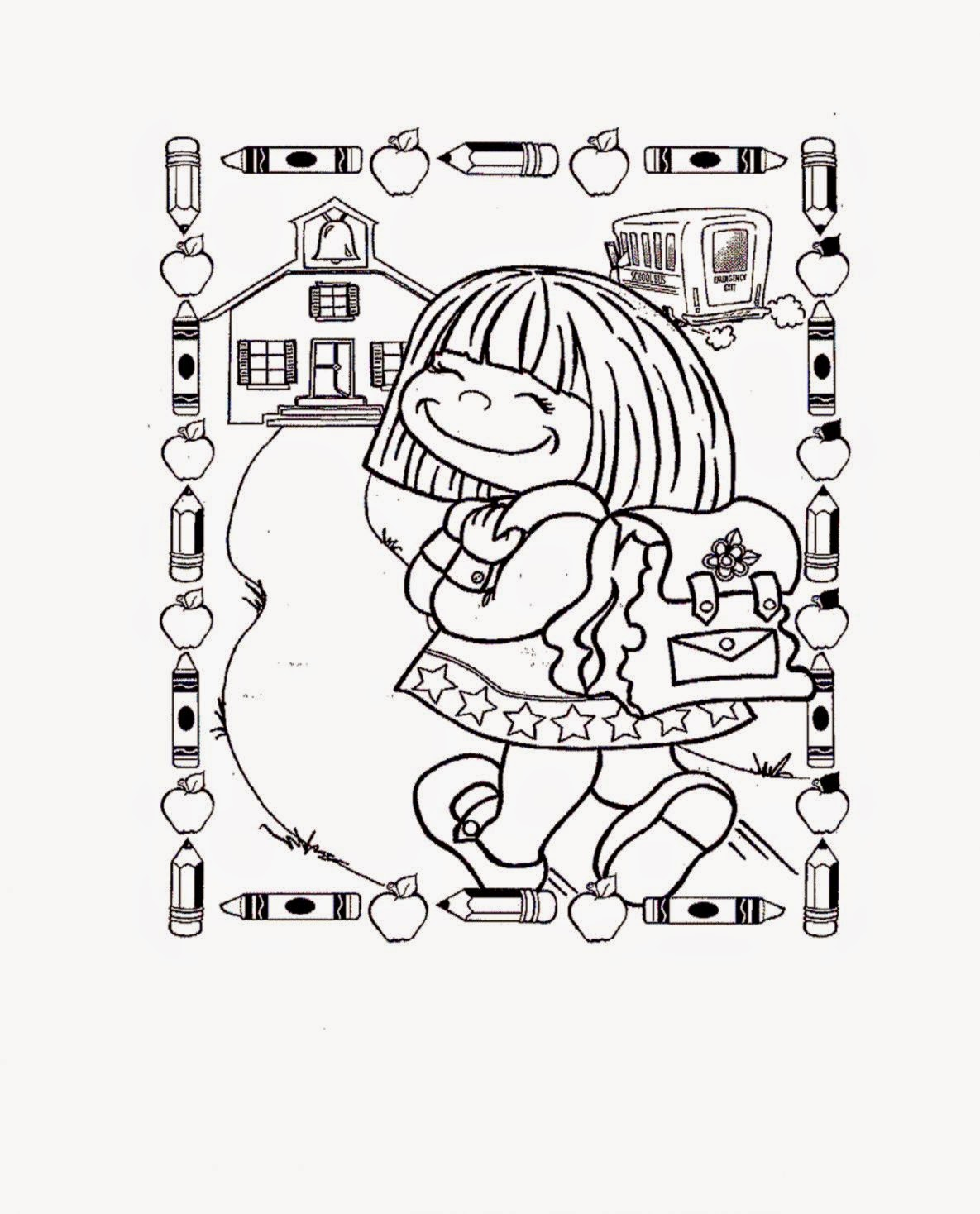 First day of school coloring sheet free coloring sheet for 100 days of school coloring page