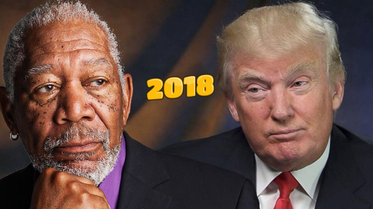 Morgan Freeman Reviews The Dumbest Moments Of 2018 (Video)