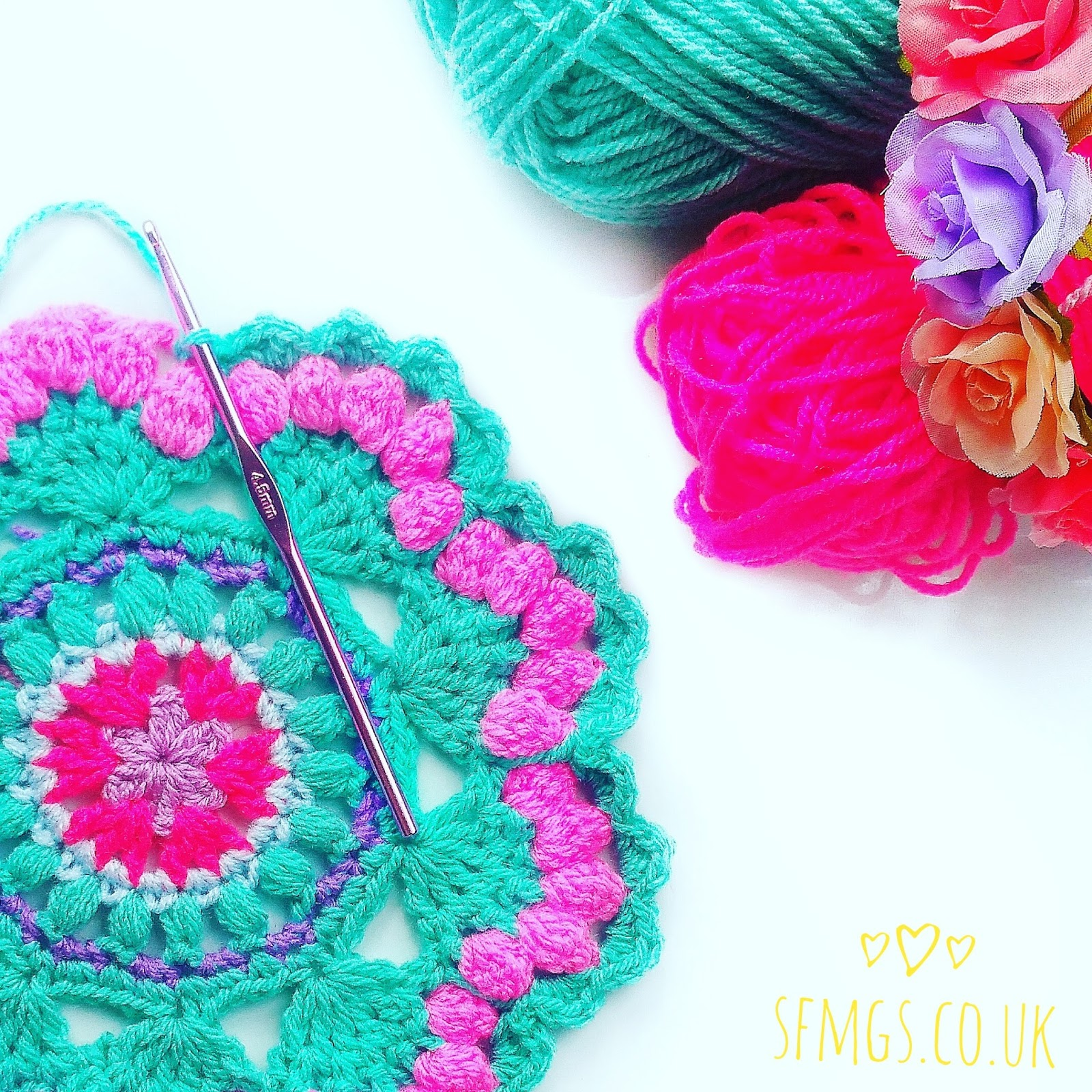 mandala crochet pattern free mermaid
