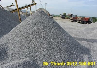 Cung cấp vật liệu xây dựng: đá 1x2, 2x4, 4x6, đá hộc, base, subbase, cát đen, cá