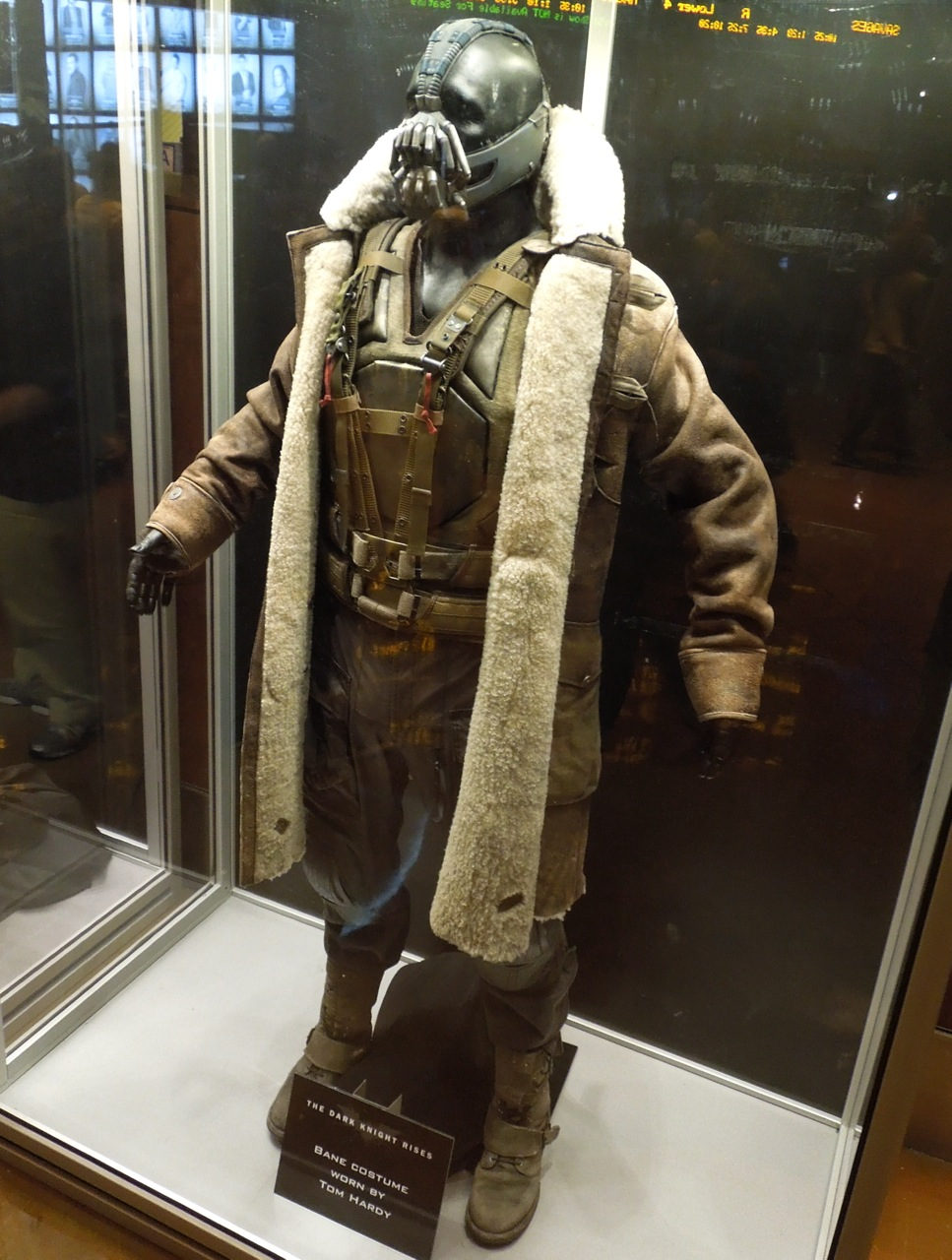 Dark Knight Rises Bane movie costume & Hollywood Movie Costumes and Props: Tom Hardyu0027s Bane costume from ...