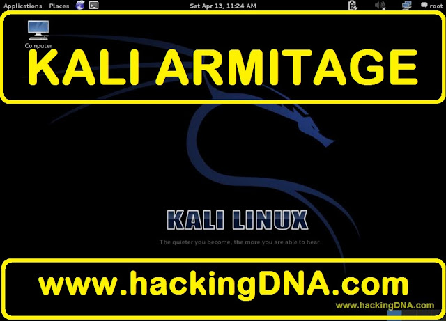 kali armitage on kali linux