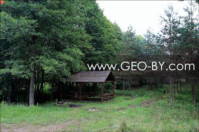 Место отдыха у реки Уса на месте Рудни Налибокской