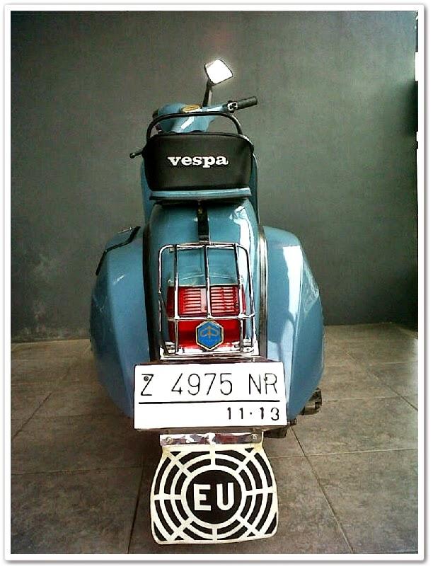 Perjuangan Mendapatkan Vespa Super 150 1974 Tasikmalaya