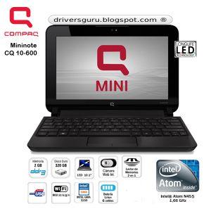 driver wifi compaq mini cq10-600