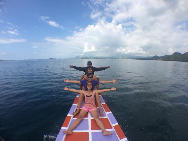 sailing trip komodo