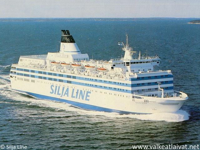 Merellä @ www.valkeatlaivat.net : 25 vuotta laivamatkoja Itämerellä juhlaristeily 17.7.-19.7.2015