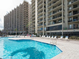 Phoenix East Condos Outdoor Pool Orange Beach Alabama