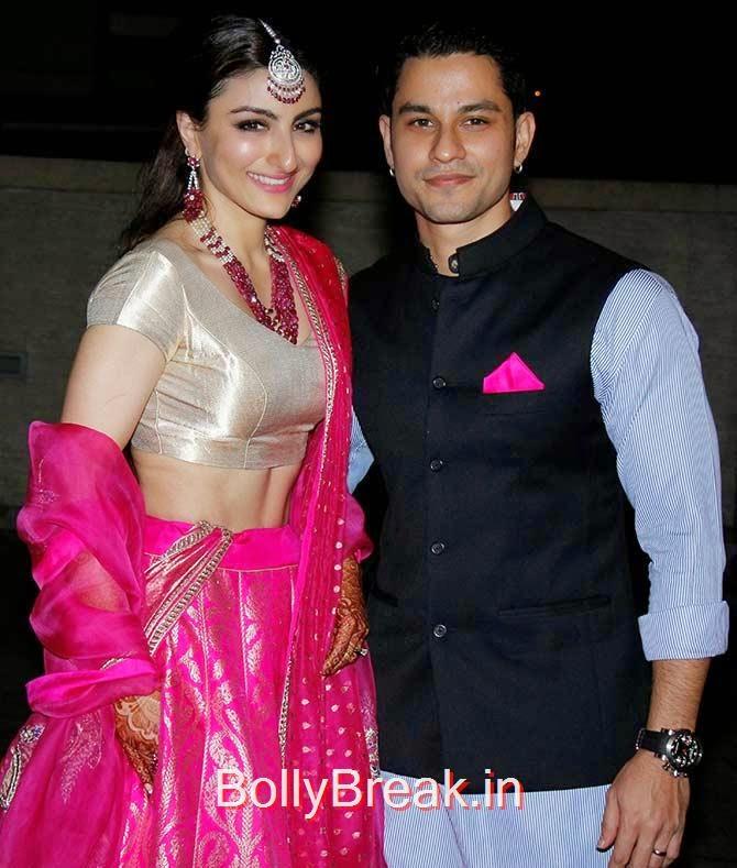 Soha Ali Khan and Kunal Khemmu, Soha Ali Khan Kunal Khemu wedding receptionPhoto gallery album
