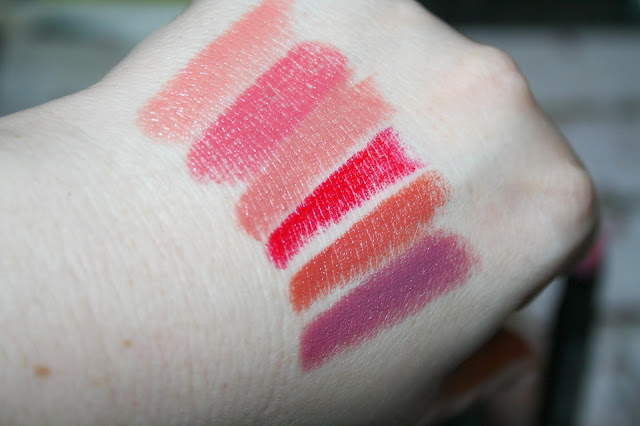 MUA Super Stylo Satin Finish Lipstick Swatches
