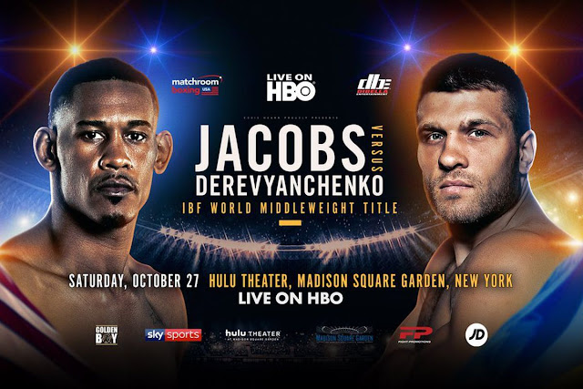 Sergiy Derevyanchenko vs. Daniel Jacobs Live Results, Recap And Video Highlights