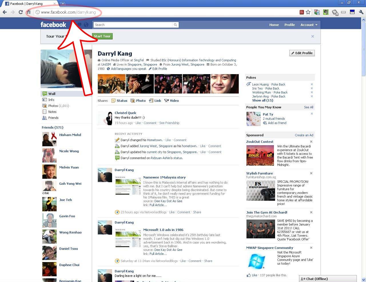PZ C: Facebook Profile